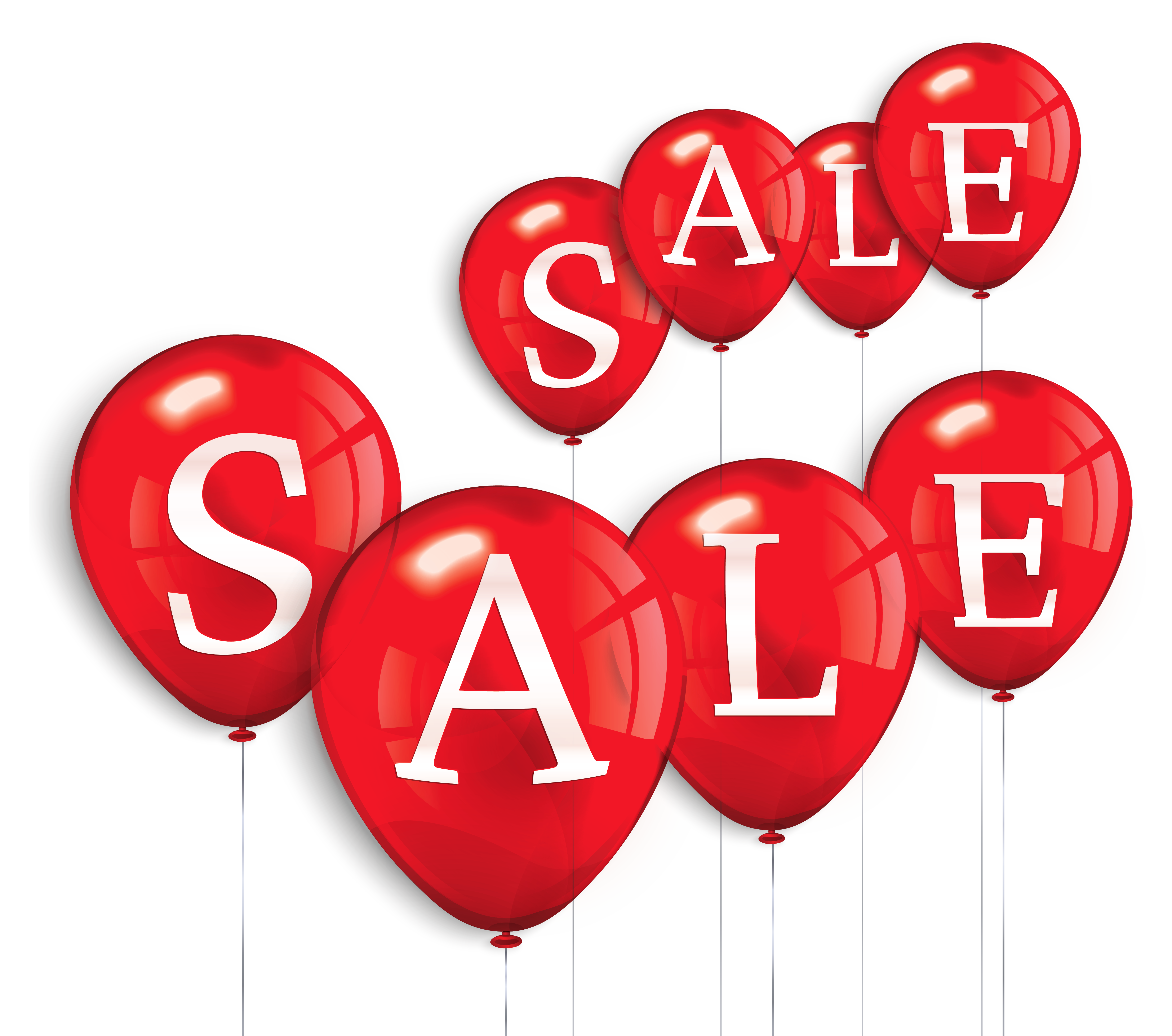 Sale clipart. Balloons png picture gallery