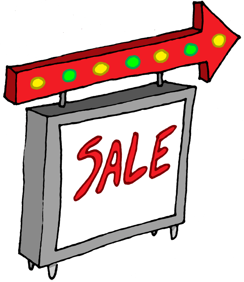 Sale clipart business sale. Clip art library sales
