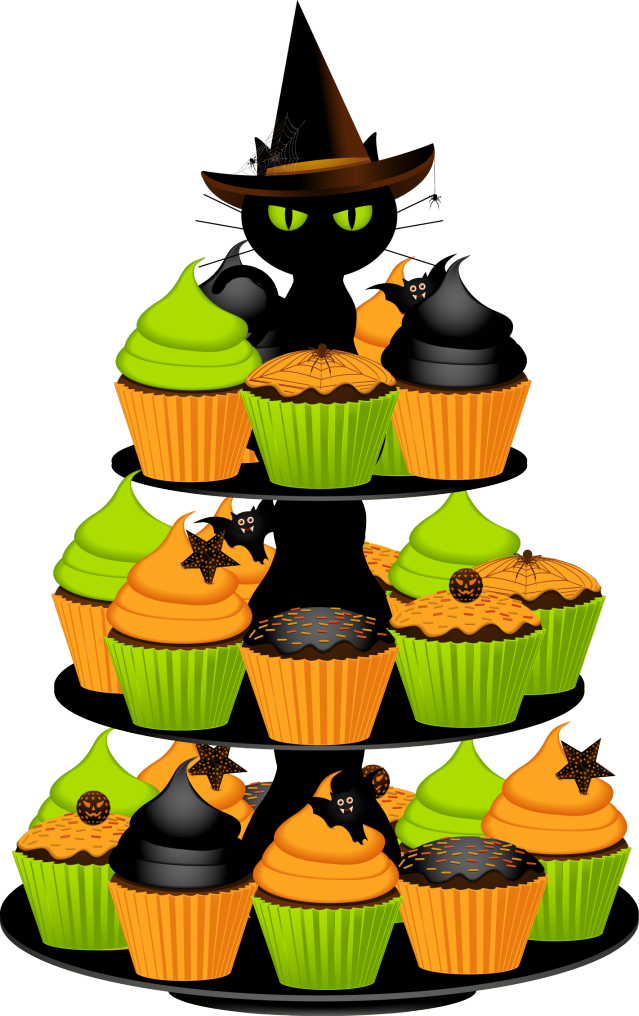 Sale clipart halloween. Free cupcake pictures kids