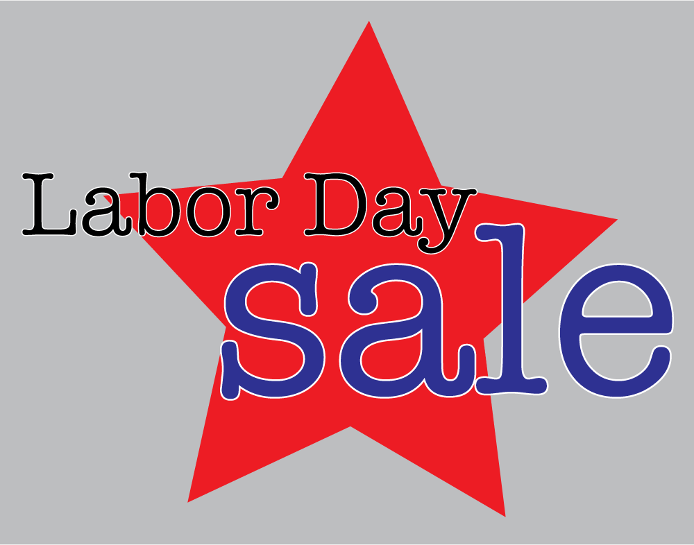 Sale clipart labor day.