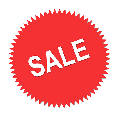 Sale clipart red. Download free png dlpng