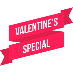 Sale ribbon png. Free valentine special tag