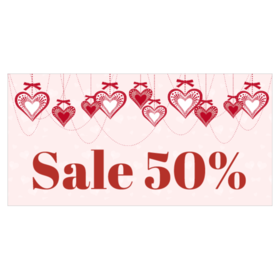 Sale transparent valentine's day. Valentine s banners from