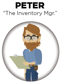 Sales clipart inventory. Peter the manager orchestratedspirits