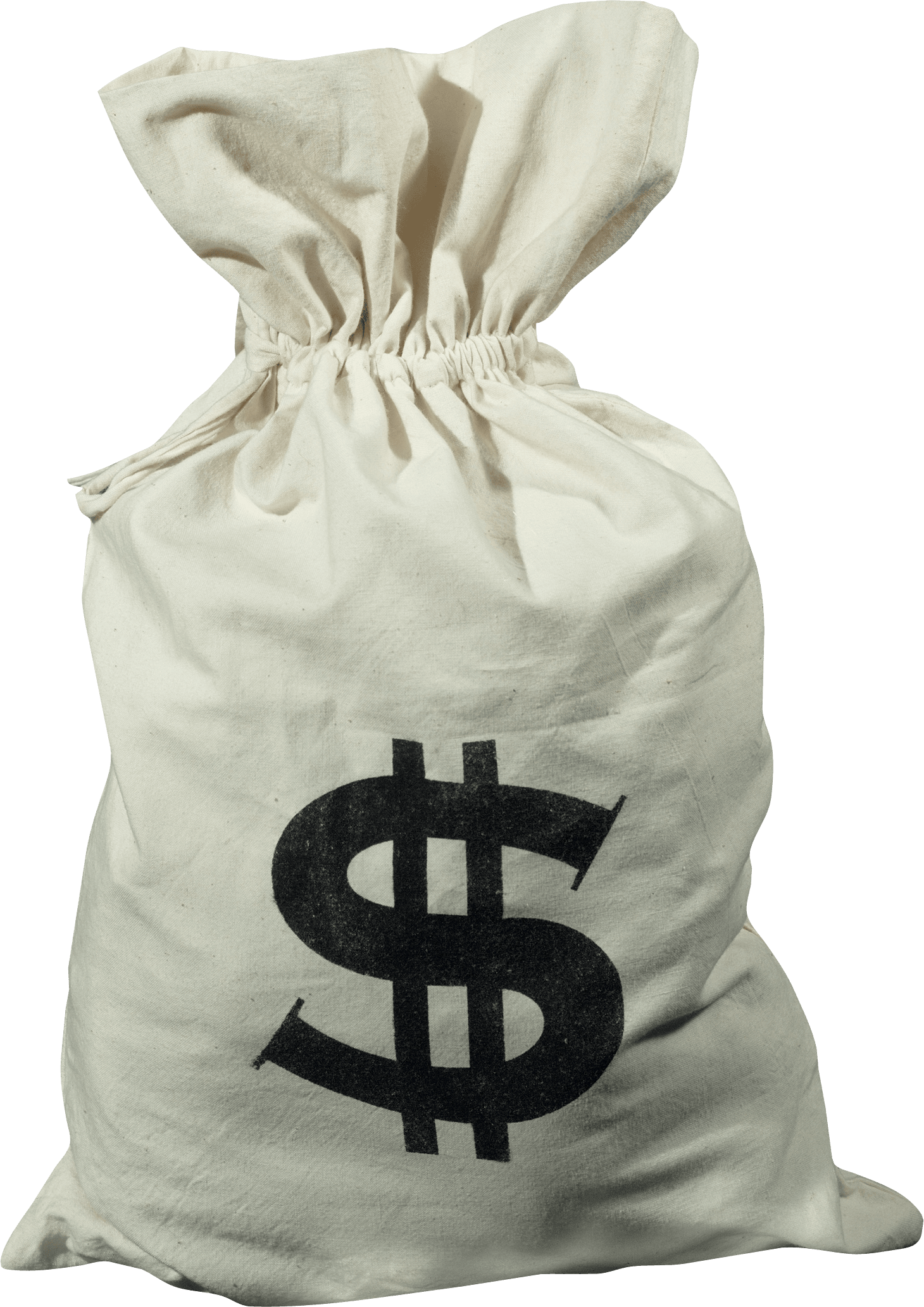 Sales clipart money. Download on bag can