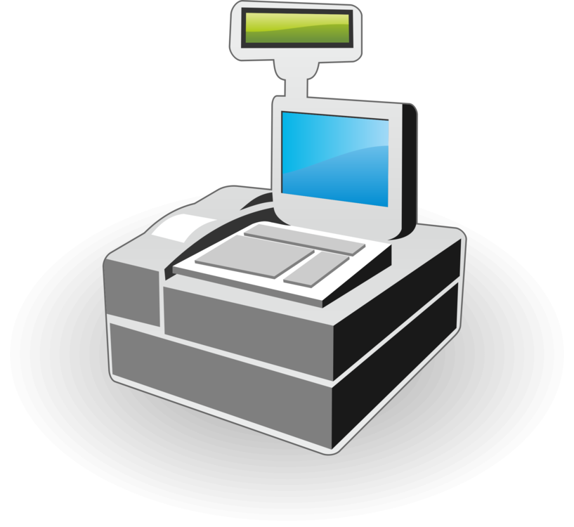 Stock clipart computer sale. Icons cash register point