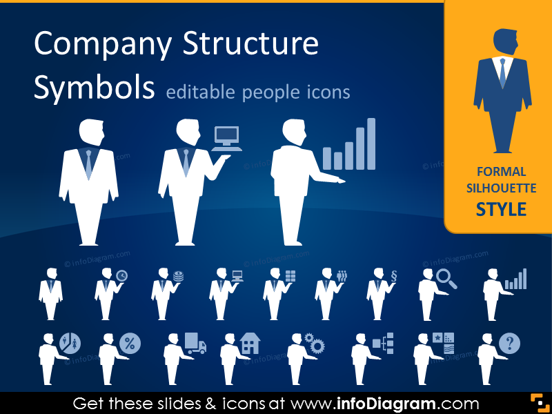 Sales clipart powerpoint. Company structure people positions