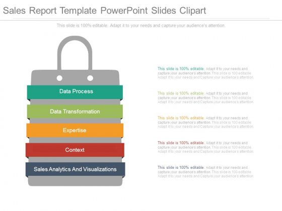 Sales clipart powerpoint. Report template slides templates
