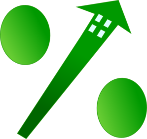 Sales clipart rate. Mortgage note clip art