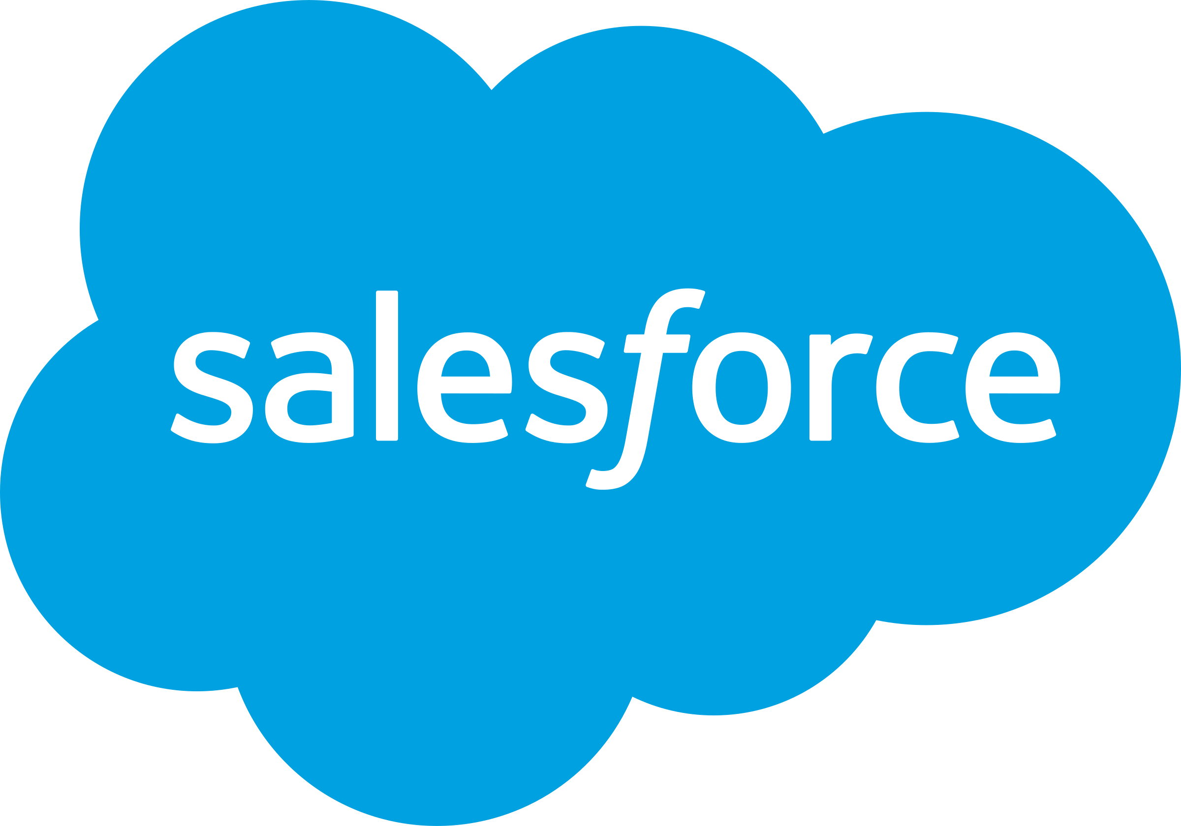 Salesforce logo png. Transparent svg vector freebie