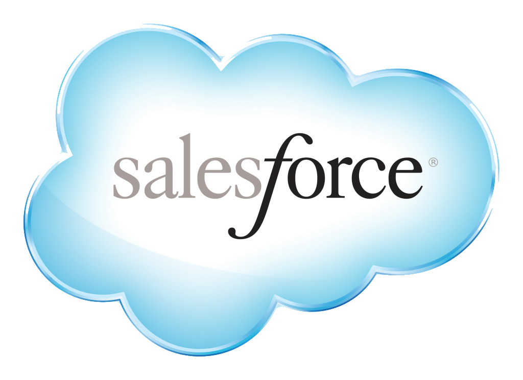 Salesforce logo png. Crm stock taking over
