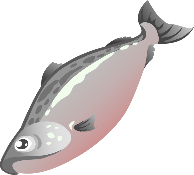 Salmon clipart blue food. Free cute cliparts download
