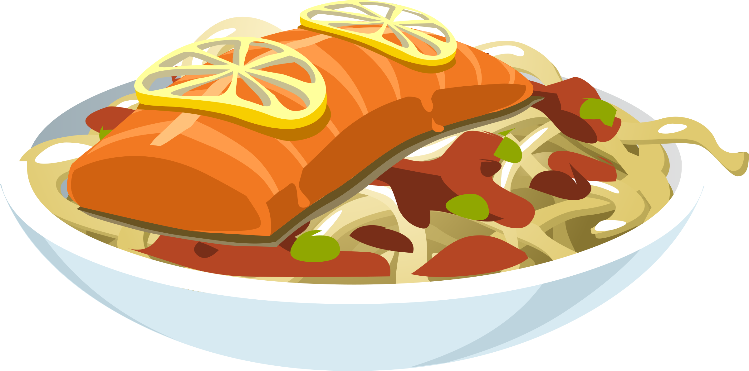 Salmon clipart blue food. Jaella icons png free