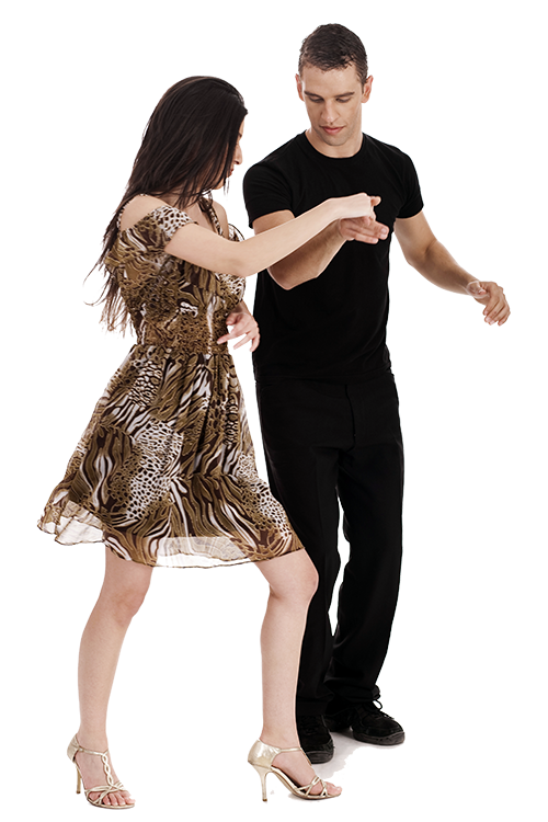 Salsa couple png. Dance lessons classes towson