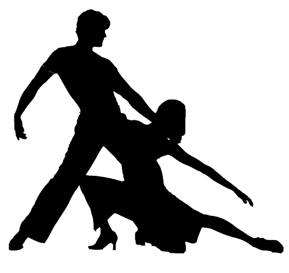 Salsa dance silhouette png. Lessons ballroom club of
