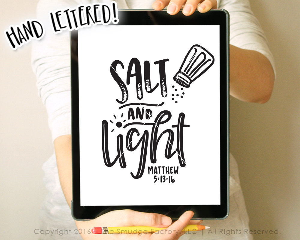 And light svg matthew. Salt clipart salt earth graphic black and white download
