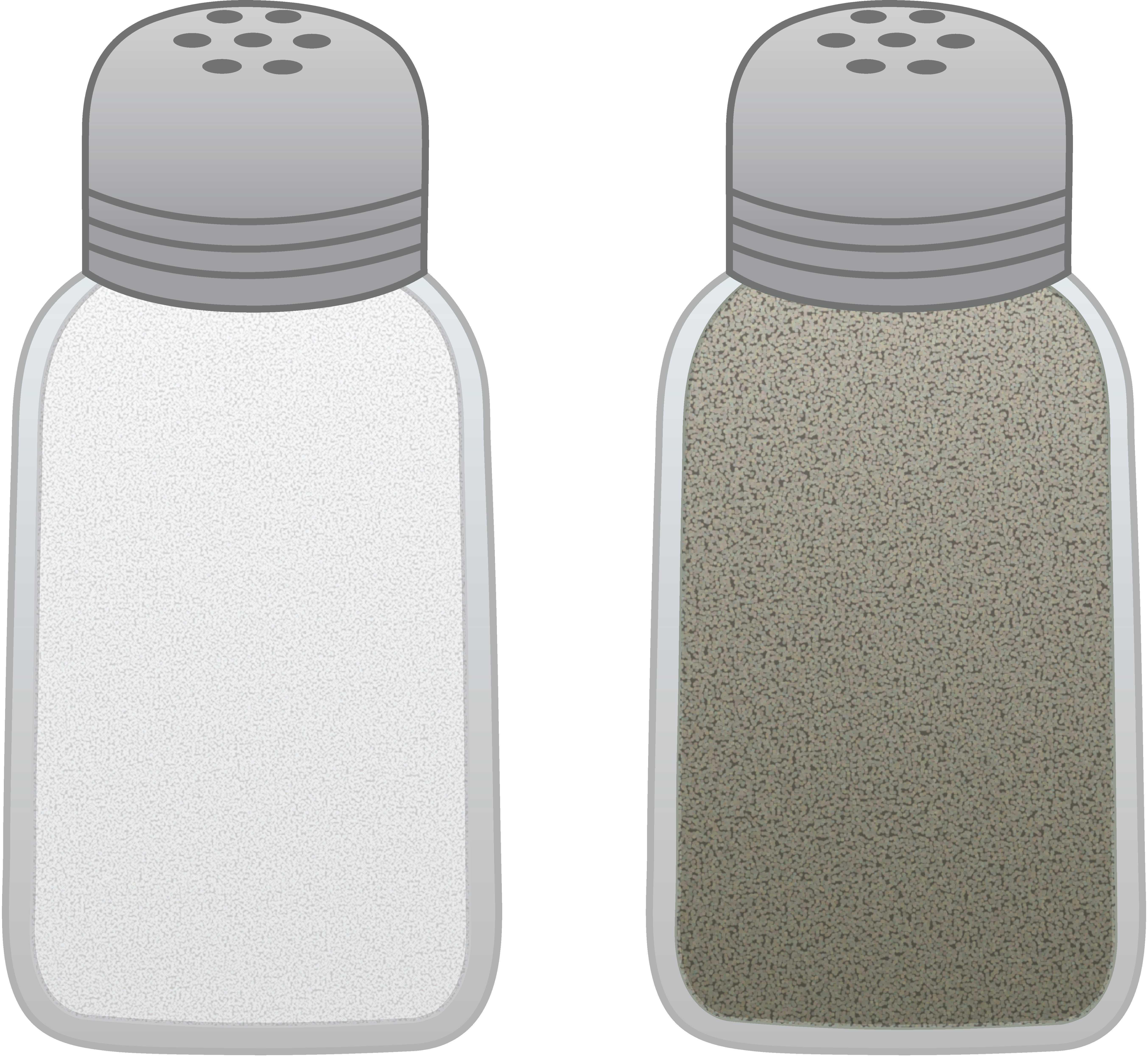 Salt clipart spice shaker. And pepper shakers free
