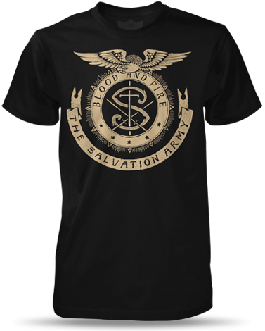 Wardrobe eagle black and. Salvation army crest png graphic library stock