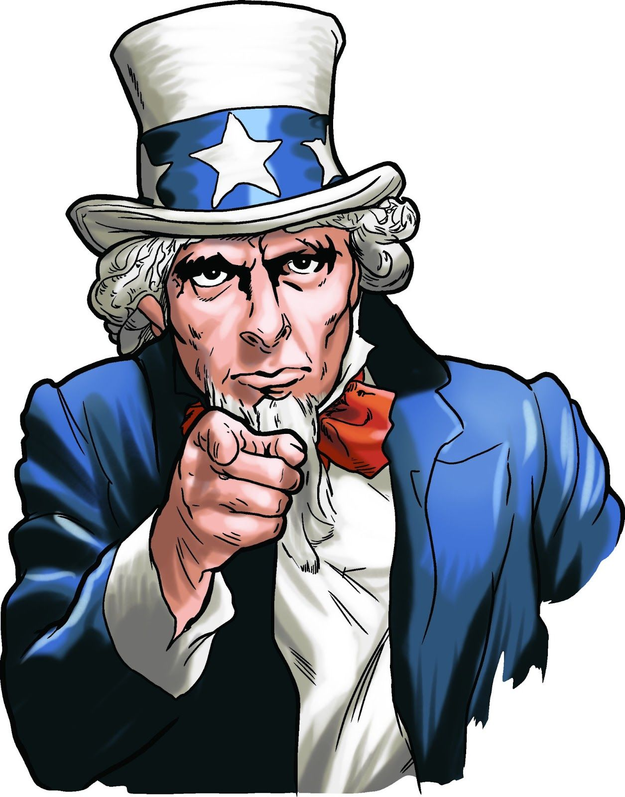 you clipart uncle sam