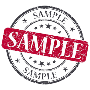 Sample stamp png. Images in collection page