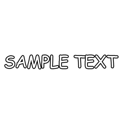 Sample text png. Images comic sans ms