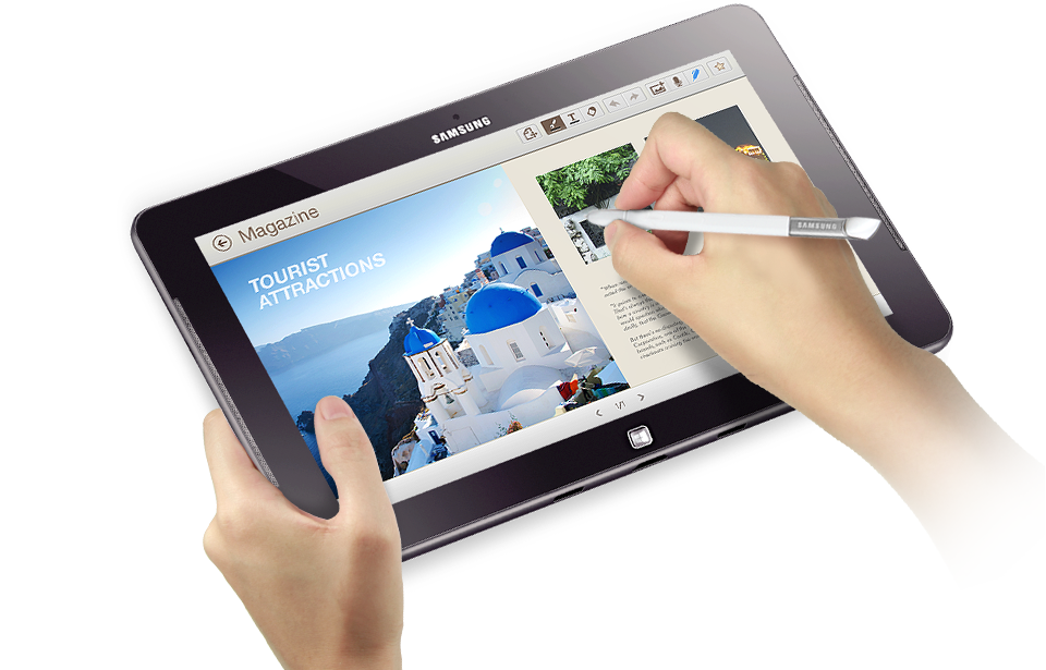 Samsung drawing app. Create a note with