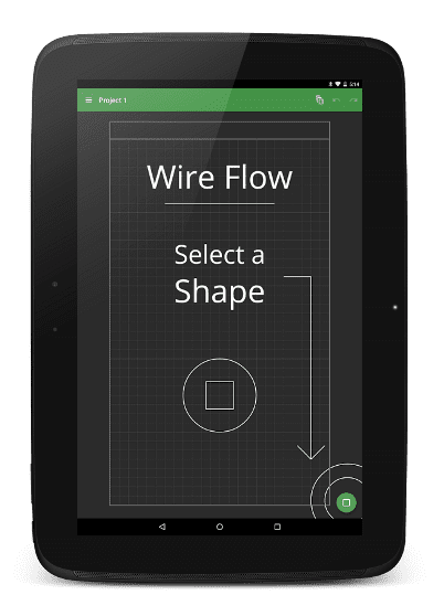 Samsung drawing wireframe. Free android kits