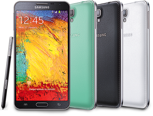 Samsung galaxy note 3 png. Neo launched in india