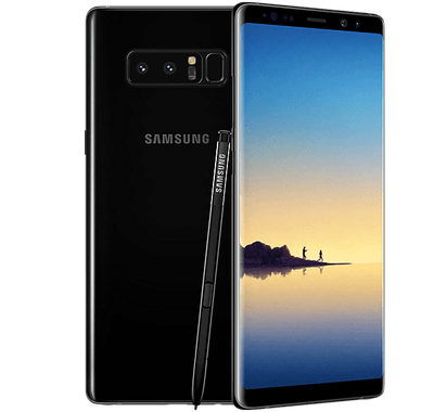 Samsung galaxy note 8 png. Contract deals best deal