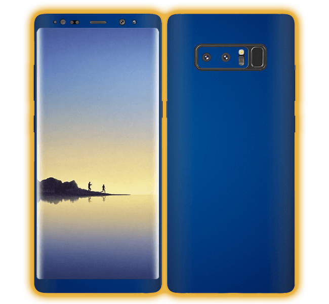 Samsung galaxy note 8 png. Chrome matte skins wraps