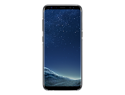 Samsung galaxy s8 png. S clear cover black
