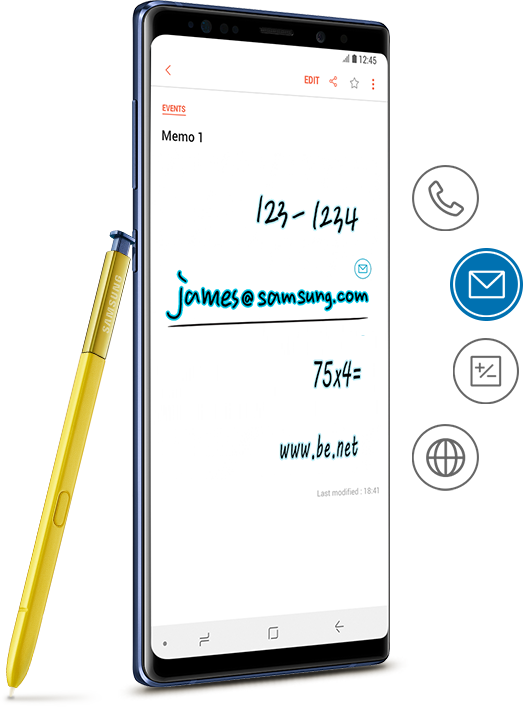 Samsung drawing galaxy note 5. Notes apps the official