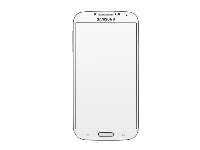 Samsung phone png. Placeit white mockup over