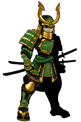 Samurai transparent aqw. Jade set is here