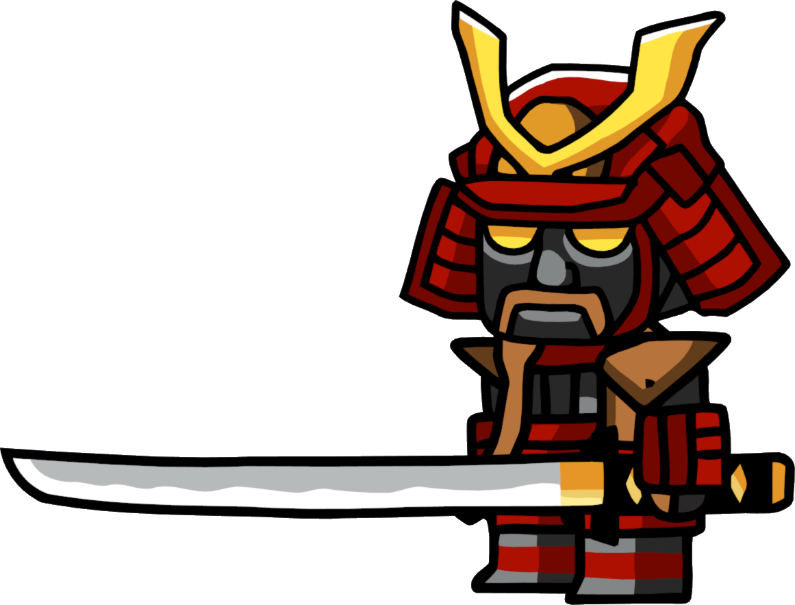 samurai transparent fictional