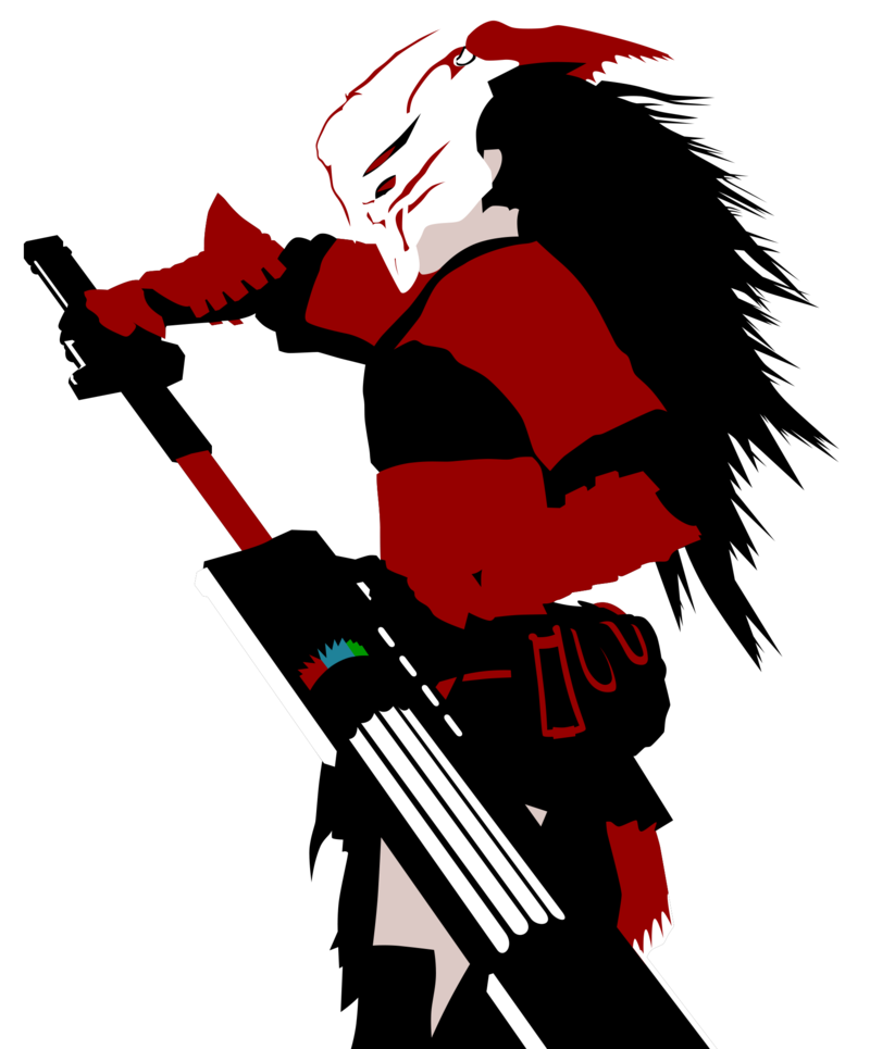 Musket vector. Rwby mysterious samurai by