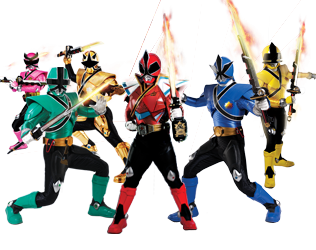 samurai transparent power rangers