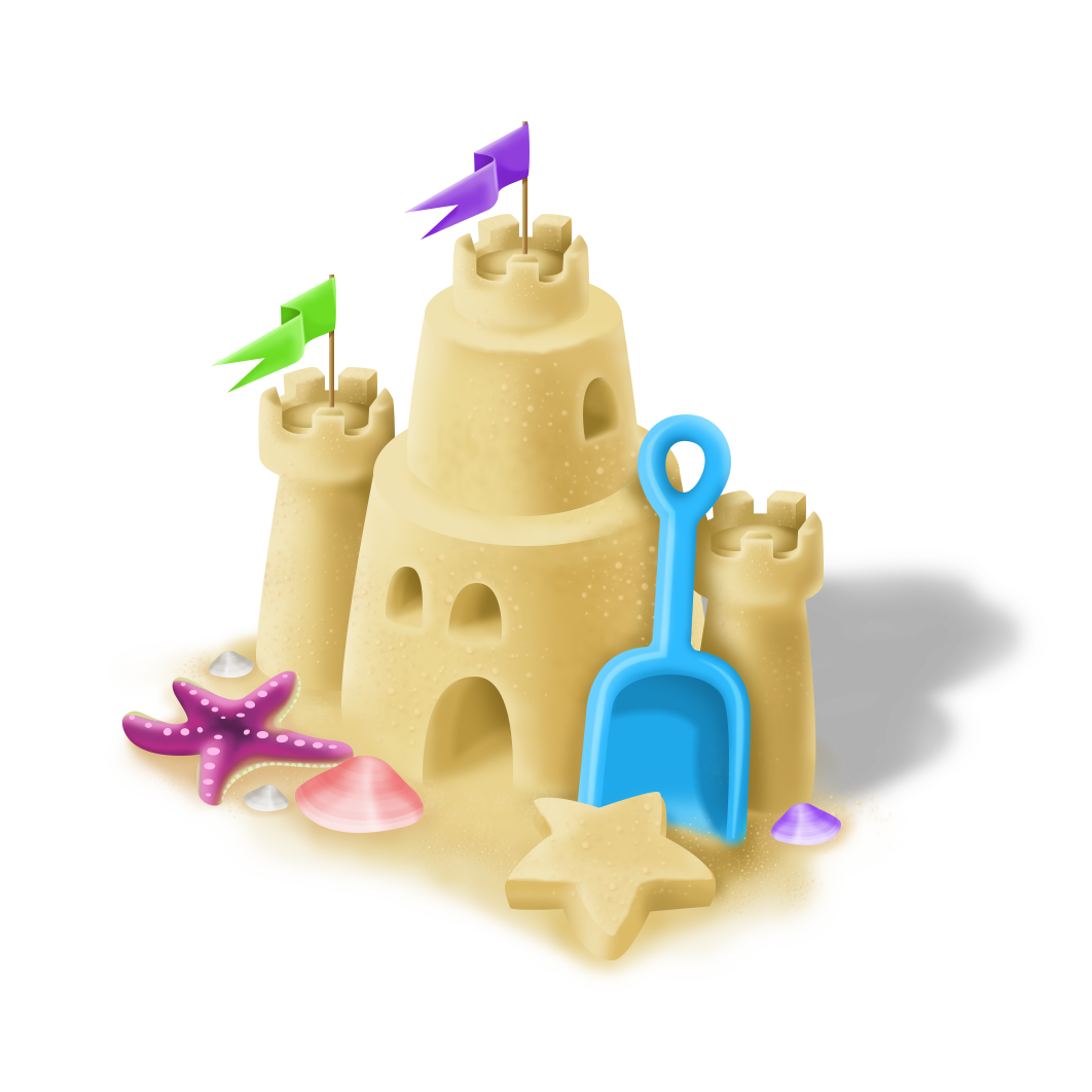 Sand castle png. Image sandcastle hay day