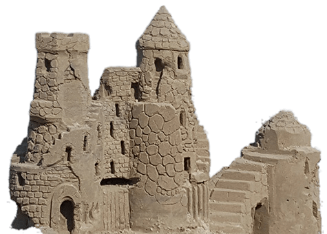 Sand png stickpng. Transparent castle stone royalty free library