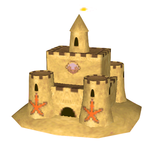 Transparent castle sand. Image png animal crossing