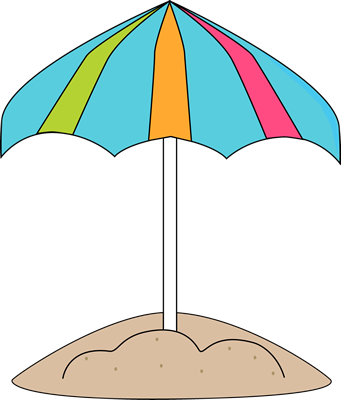 Sand clipart beach umbrella. In the clip art