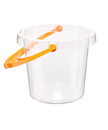 Sand clipart centre. Early learning clear bucket
