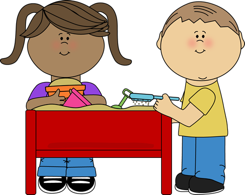 Blocks clipart toy kids sharing. Sand centre free on