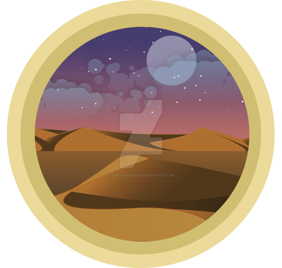 Sand clipart scenery. Practice circle desert by