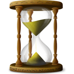 Sand clock png. Hourglass sandclock time wait