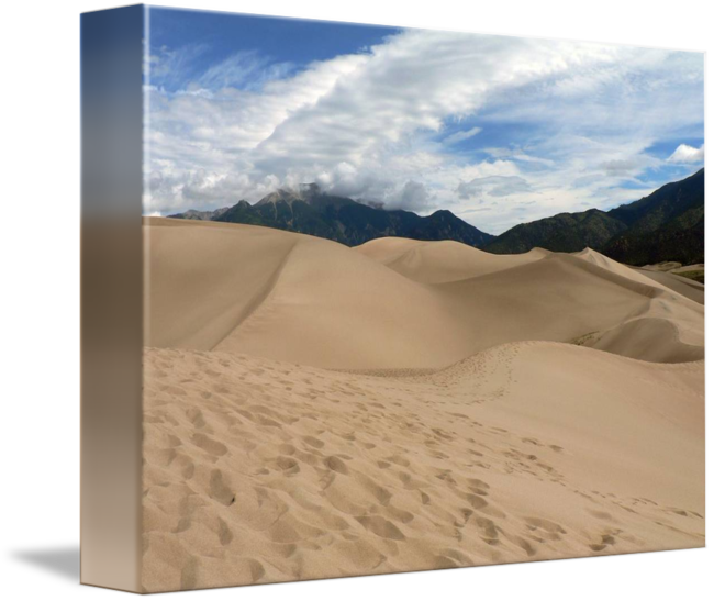 Sand dunes png. Great colorado by richard