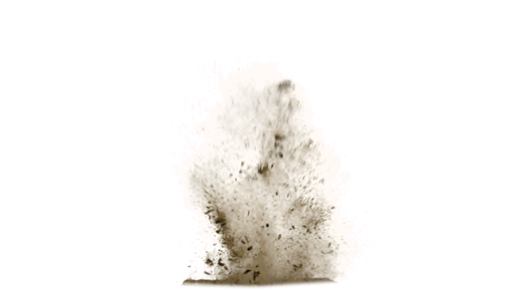 Sand dust png. Storm explosion brown transprent