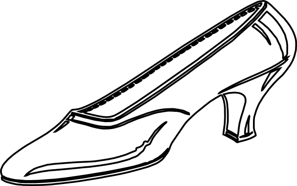 Vector footprints welly. Free shoes outline download