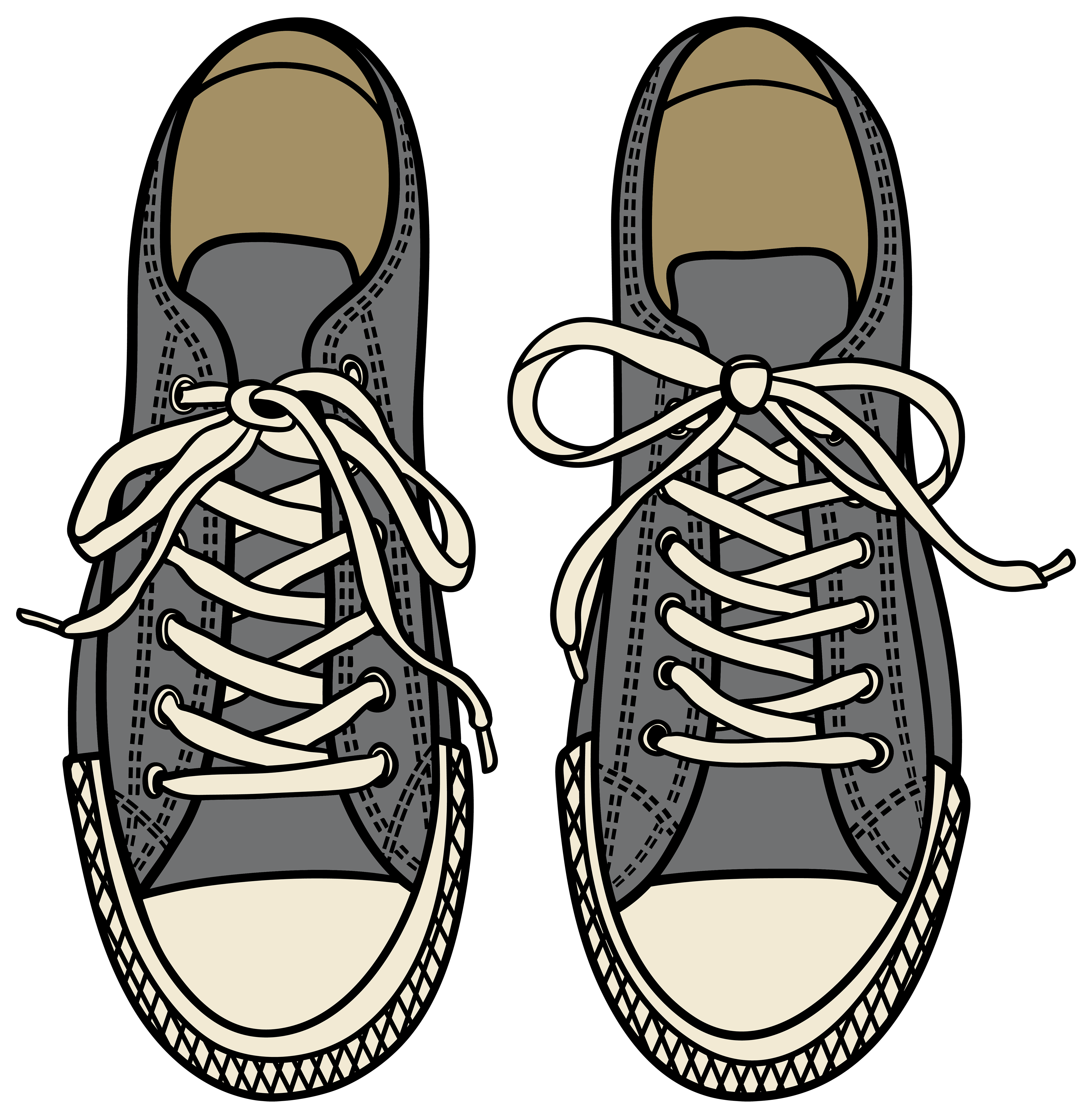 cartoon sport shoe png