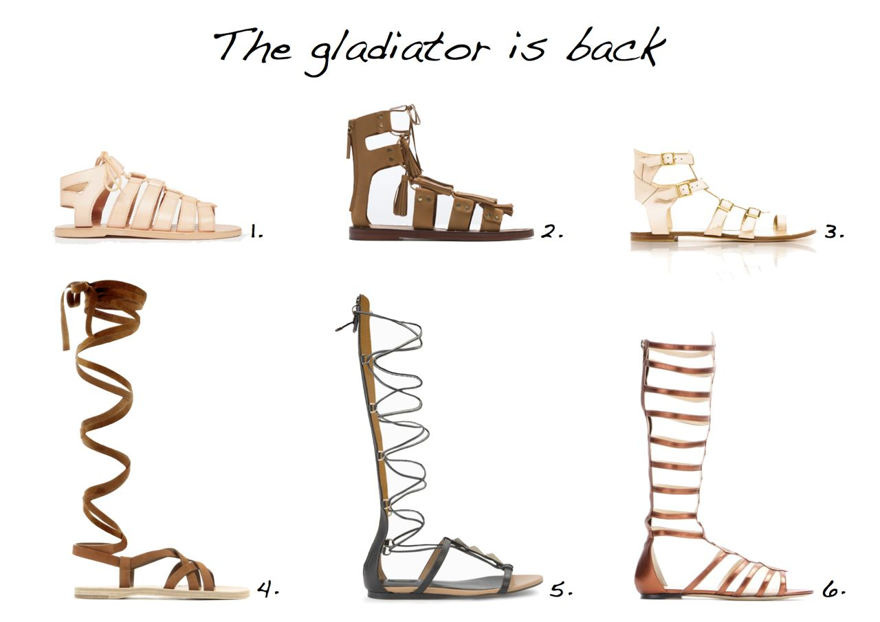 Sandals clipart roman sandal. The gladiator is back